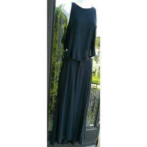 A L C Cutout Maxi Dress
